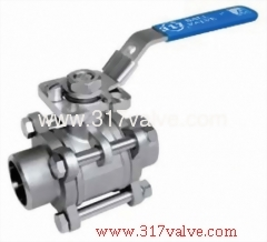 3-PC FULL PORT BALL VALVE (BV-3PS-BWD/BV-3PC-BWD)