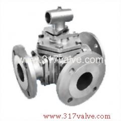 3-WAY INVESTMENT CASTING BALL VALVE.(BV-316-3WF-PN16/PN40 / BV-304-3WF-PN16/PN40)
