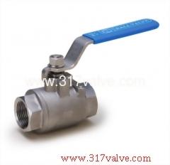 2-PC INVESTMENT CASTING BALL VALVE 1000 WOG (V-2/V2C)  (V-2/V2C)
