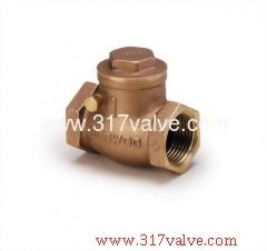 BRONZE / BRASS SWING CHECK VALVE CLASS 300/150 (BG-T25/BG-T26)