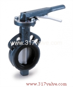CAST IRON BUTTERFLY VALVE WAFER TYPE LEVER & GEAR OPERATED (BF-26N/26S/26M/28G/28S/28M)