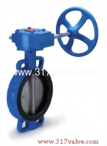 CAST STEEL BUTTERFLY VALVE WAFER TYPE LEVER & GEAR OPERATED (BF-WCB-26N/26S/26M/28G/28S/28M)