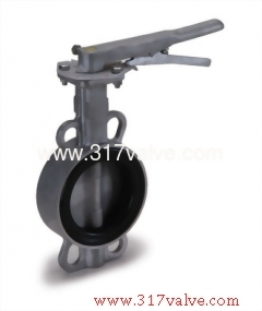 ST.ST.304 / ST.ST.316 BUTTERFLY VALVE WAFER TYPE LEVER & GEAR OPERATED (BF-304-26S/316-26M/304-28S/316-28M)
