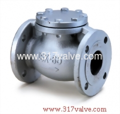 DUCTILE IRON LIFT CHECK VALVE FLANGED END CLASS 10K 2.1/2 DG-168)