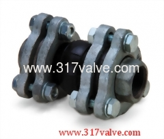 RUBBER EXPANSION JOINT (UNION) (AMSU SERIES THREADED UNION)