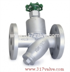 CAST IRON STEAM TRAP MANUAL TYPE FLANGED END (ST-T6F)