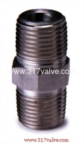 HIGH PRESSURE PIPE FITTING HEXAGON NIPPLE (FG-HXNIP-TH)