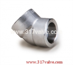 HIGH PRESSURE PIPE FITTING ELBOW 45 DEG (FG-ELB45-SW)