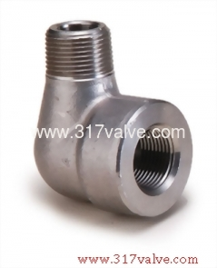 HIGH PRESSURE PIPE FITTING STREET ELBOW (FG-STELB-TH)