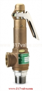 BRONZE SAFETY RELIEF VALVE-BRONZE BODY/SS DISC (SV-BS9L)