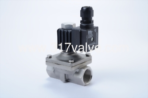 DIRECT, MULTIPLEX, CONNECTED DIAPHRAGM CONDUCTIVE AND NORMLLLY CLOSED SS316 SOLENOID VALVE 3/8 (SKW OF EXPLOSION PROOF EX II2 G EX E MB IIC T4 GB Series)