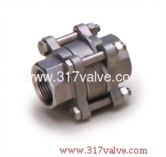 STAINLESS STEEL 316 3-PC WAFER DISC CHECK VALVE (V3WC)