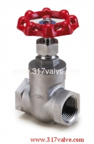 STAINLESS STEEL GATE VALVE CLASS 600 SCREWED END (SS-207)