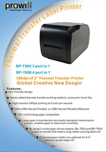 Barcode Printer-BP-T400