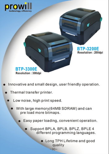 Barcode Printer-BTP-3200E-3300E