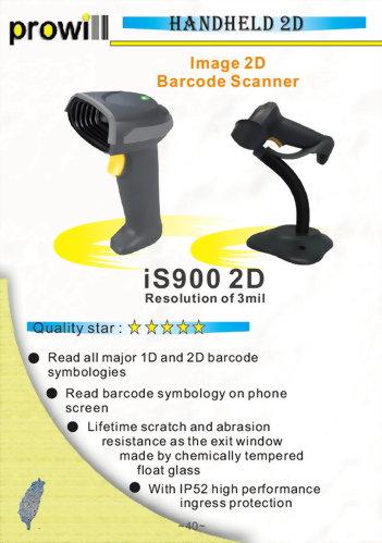 Barcode Scanner-2D Handheld Barcode Scanner-iS900 2D6