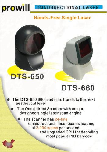 Barcode Scanner-Desktop Scanner-DTS-650_660