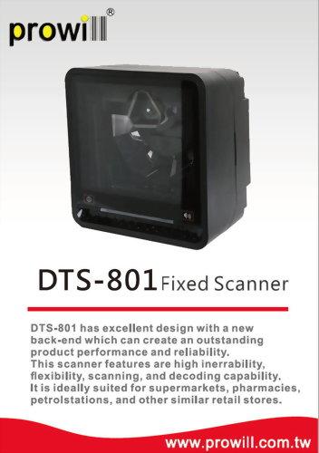 Barcode Scanner-Desktop Scanner-DTS-801