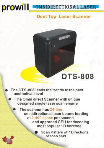 Barcode Scanner-Desktop Scanner-DTS-808