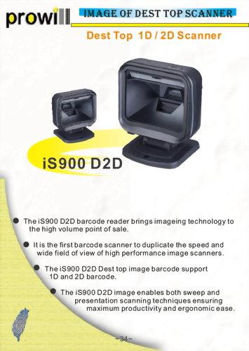 Barcode Scanner-Desktop Scanner-iS900 D1D-D2D