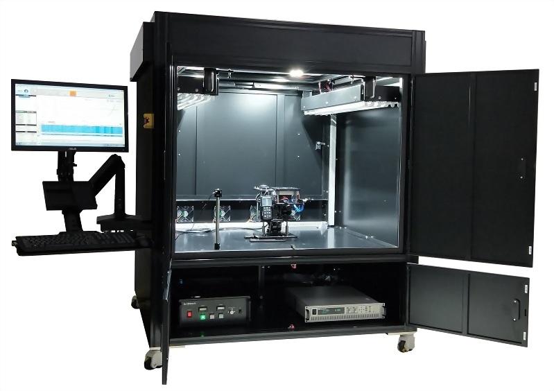 Indoor low illumination Test system of solar cells Enlitech