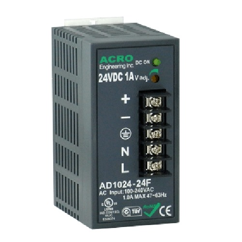 DIN Rail Power Supply 20~24W, Single Output