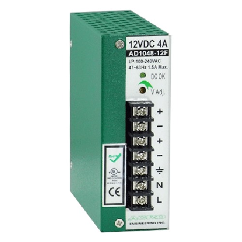 DIN Rail Power Supply 40~48W Watts, Single Output Power with DIN Rail