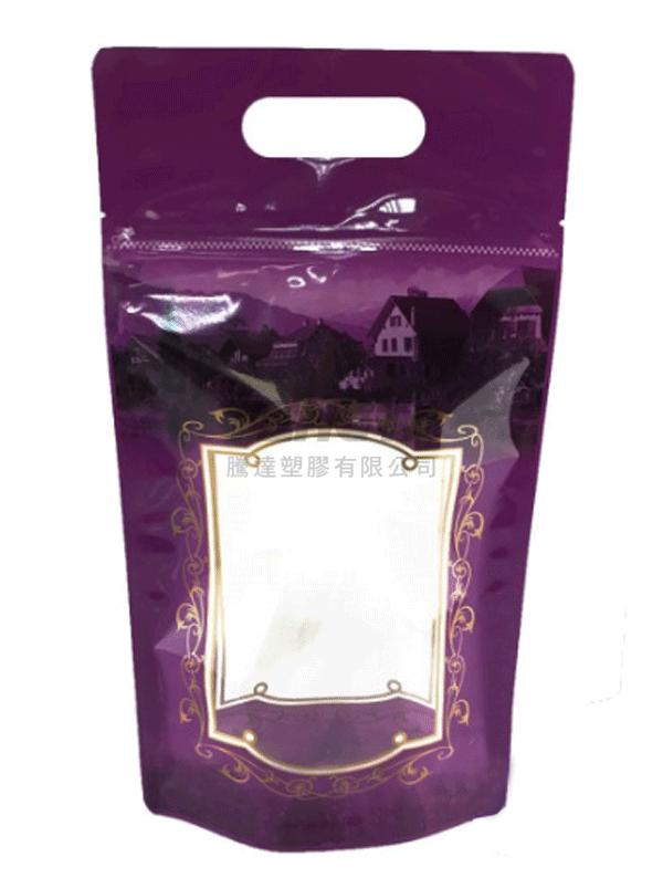 歐風(紫) 食品立袋-8