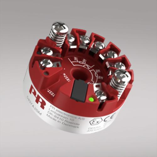 PR 5437 二線式HART 7 溫度傳送器