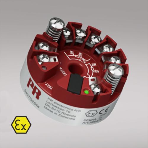 PR 5437 2-wire HART 7 temperature transmitter