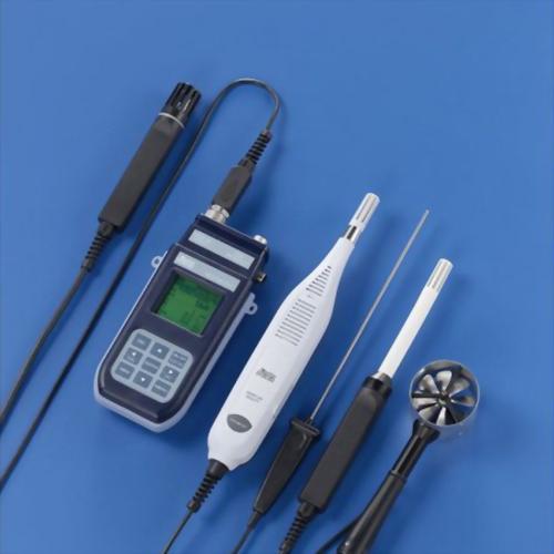 DeltaOHM HD37AB1347 手持式空氣品質風速溫濕度記錄監控器