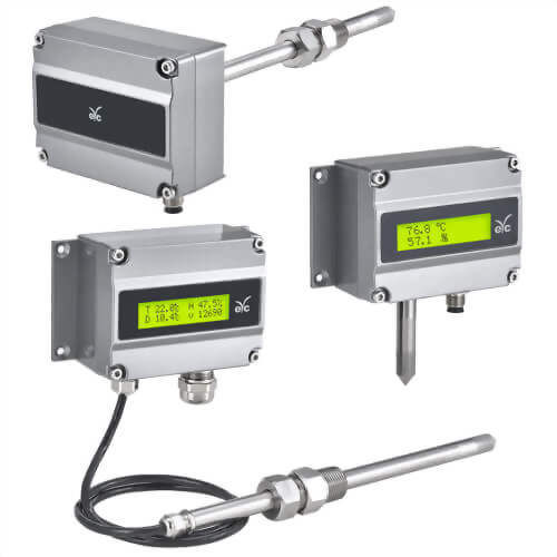 eYc THM80X series Industry degree high accuracy temperature & humidity transmitter