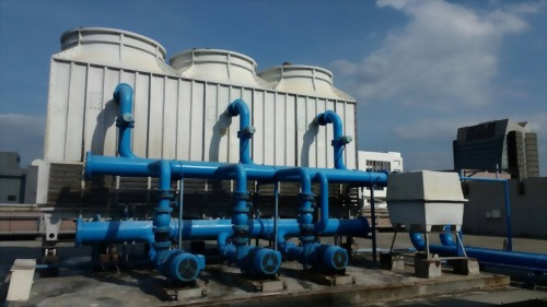 eYc Smart building-Cooling tower energy-saving solution