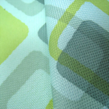 Printed Polyester Fabric , PET Recycled Fabric