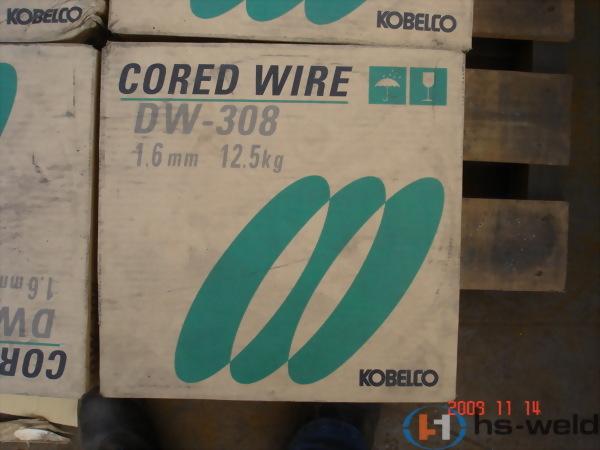 日本KOBELCO  不鏽鋼包藥焊線