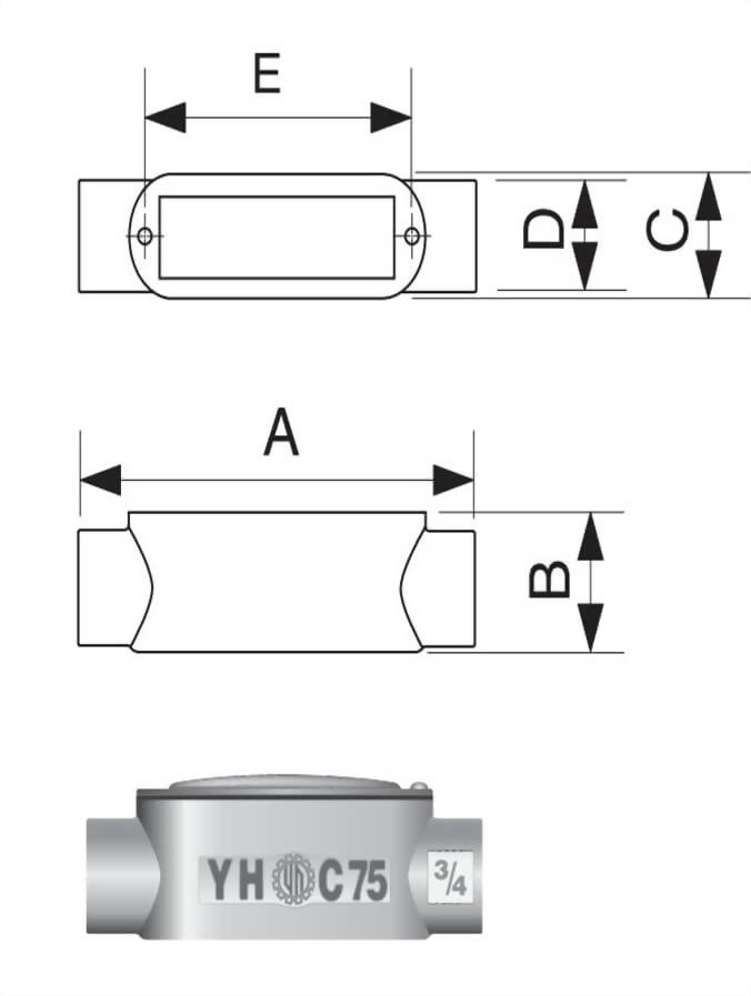 C型電管穿線匣
