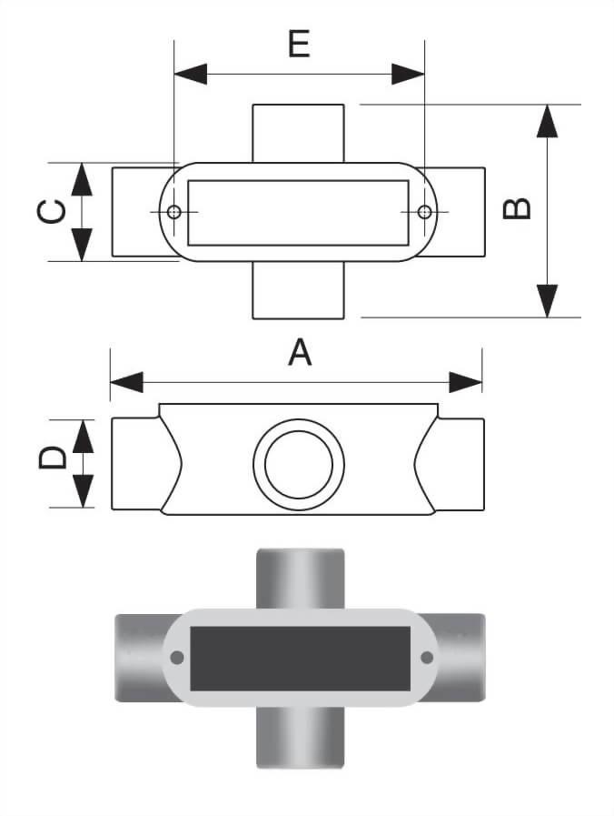 X型电管穿线匣