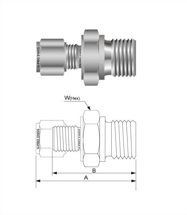 Male connector(PS)