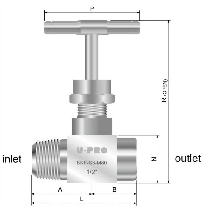 MALE TO FEMALE VALVES