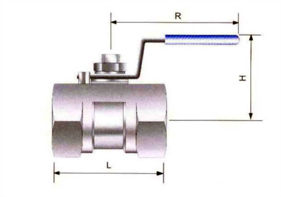 ONE-PIECE BALL VALVE