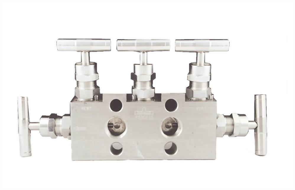 Five-way valve