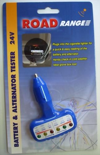 24V Battery & Alternator Tester