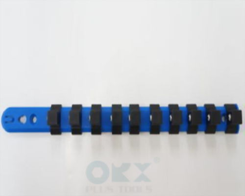 "3/8"" Socket Rack (12 Pcs Collet) 12"" Long"