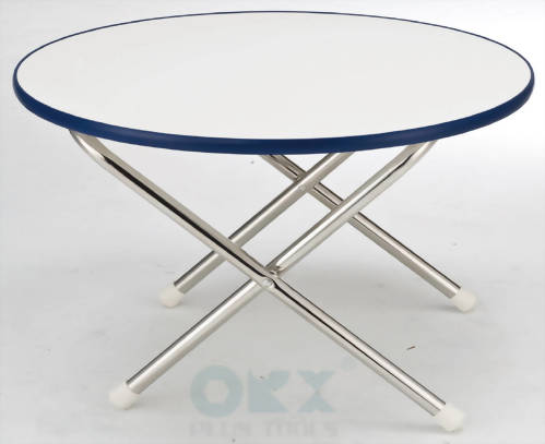 "Round Deck Table, Size: 24""*16-1/4"""