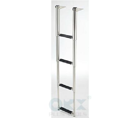 Stainless Steel Boating Ladder (Telescoping 4 Steps)