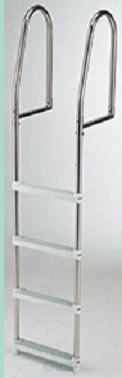 Dock Ladder (Plastic 4 Steps) Stainless Frame