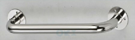 Grab Rail 350mm INCL Screws, Stainless Steel Tubing: 25mm, Height 60mm
