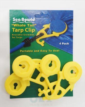 Dolphin Tarp Clips 4 Pcs