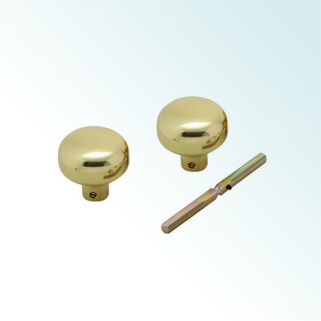 Solid Brass Door Knob Set 0105008