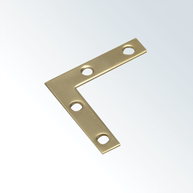Solid Brass Flat Corner Brace
